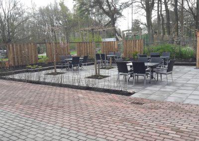 aanleg nieuwe tuin